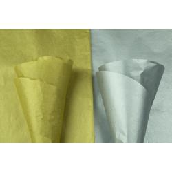 Seidenpapier gold und silber