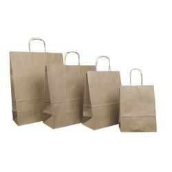 Recycling-Taschen aus Kraftpapier