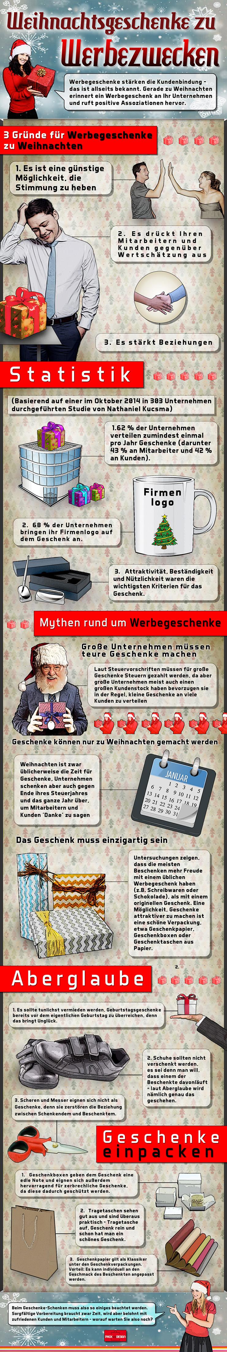 Gründe für Werbegeschenke zu Weihnachten